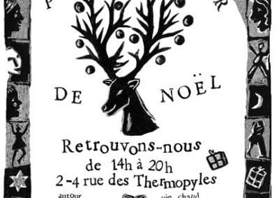 Affiche Petit Bazaar de Noël 2012