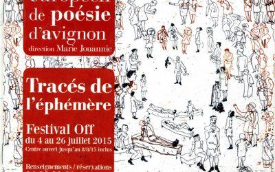 estampes Théâtrales au Centre Européen de Poésie