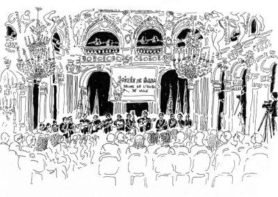 Gala portugais à la mairie de Paris