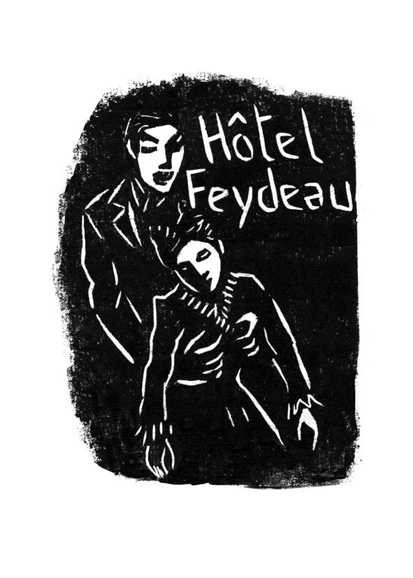 Hôtel Feydeau couverture