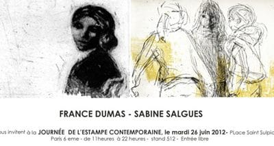 journée de l'Estampe Contemporaine 2012