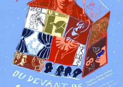 Affiche festival du devant de la scène 2006