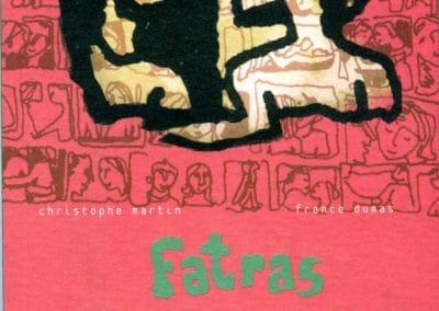 """Couverture livre """"Fatras amoureux"""""""