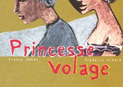 """Couverture livre """"Princesse volage"""""""