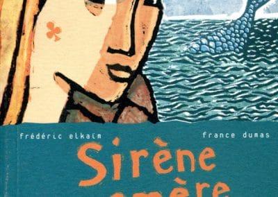 """Couverture livre """"Sirène amère"""""""