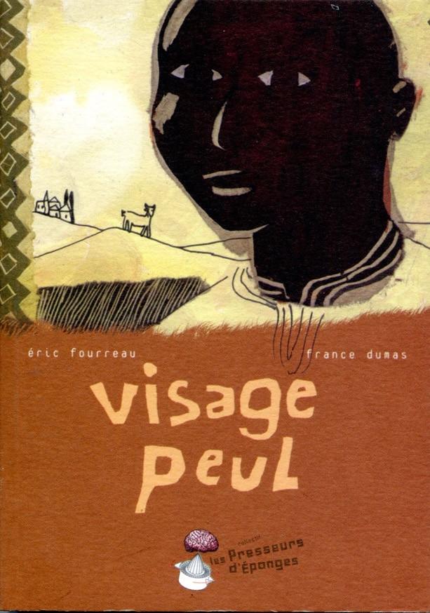 """Couverture livre """"Visage peul"""""""