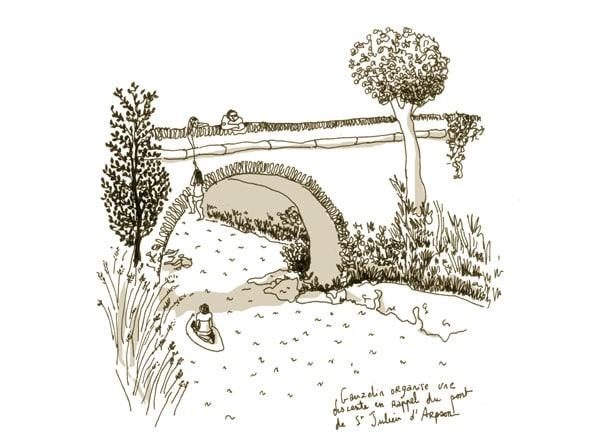 Pont de Saint Julien d'Arpaon