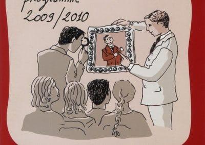 Affiche programme Drouot