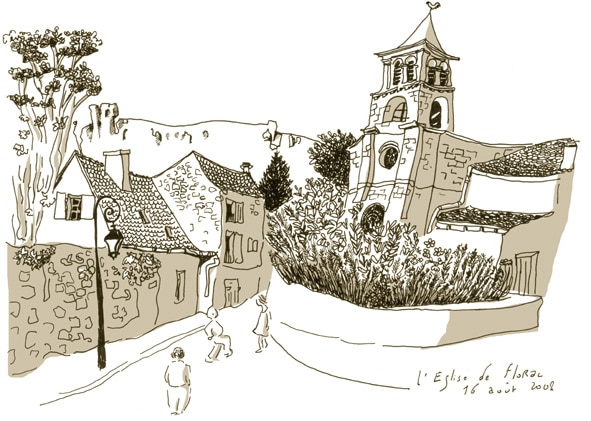 L'église de Florac