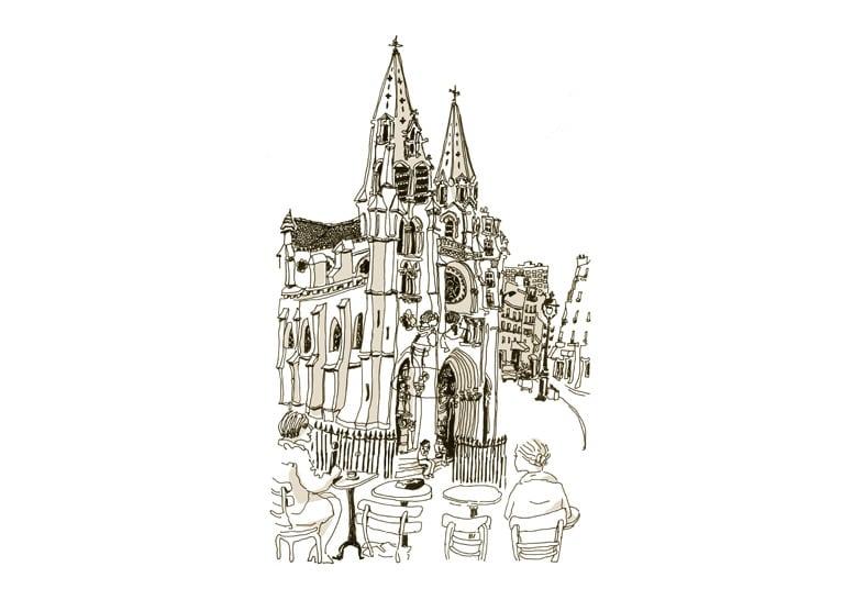 Eglise de Belleville