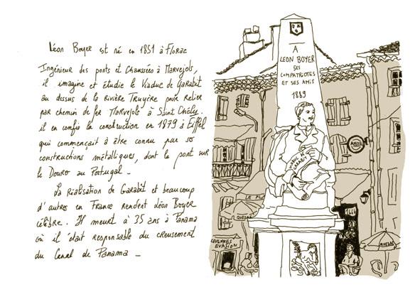 Statue de Léon Boyer