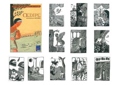 "Illustrations livre ""Oedipe"""
