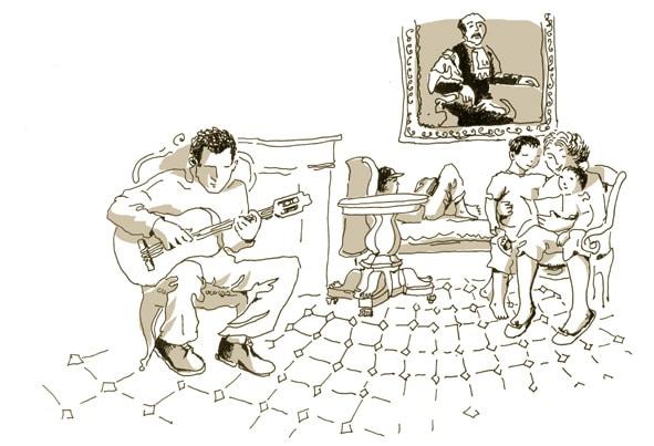 Soirée guitare