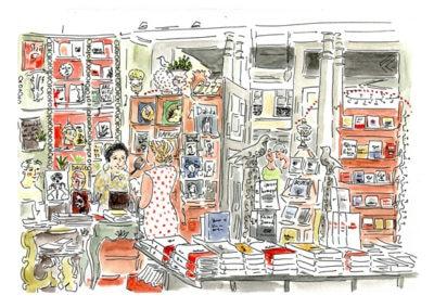 la librairie des Abesses