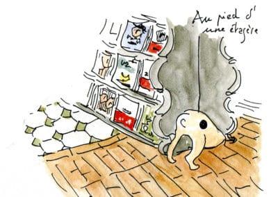 la librairie des Abesses détail