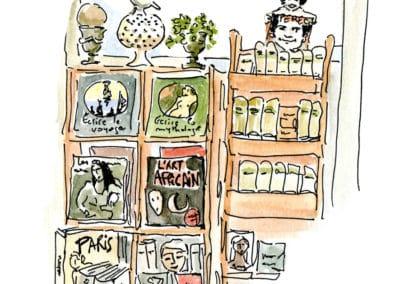 la librairie des Abesses détail2 bis