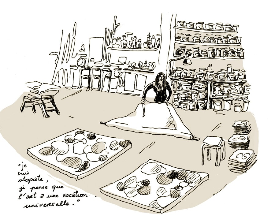 Caroline Coppey - atelier