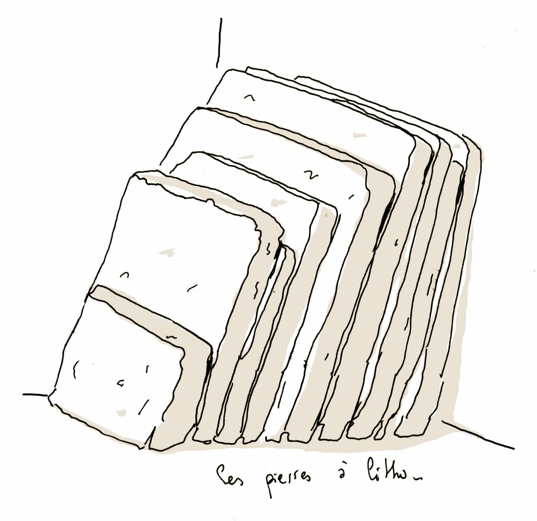Mourlot pierre à litho