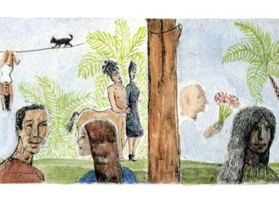 Rêves sous les palmier