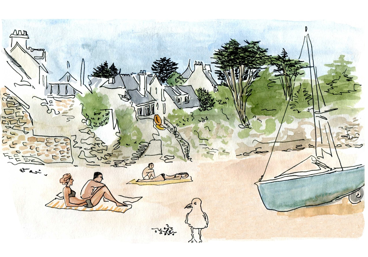 Rotheneuf calendrier- plage du val (sans l'homme)