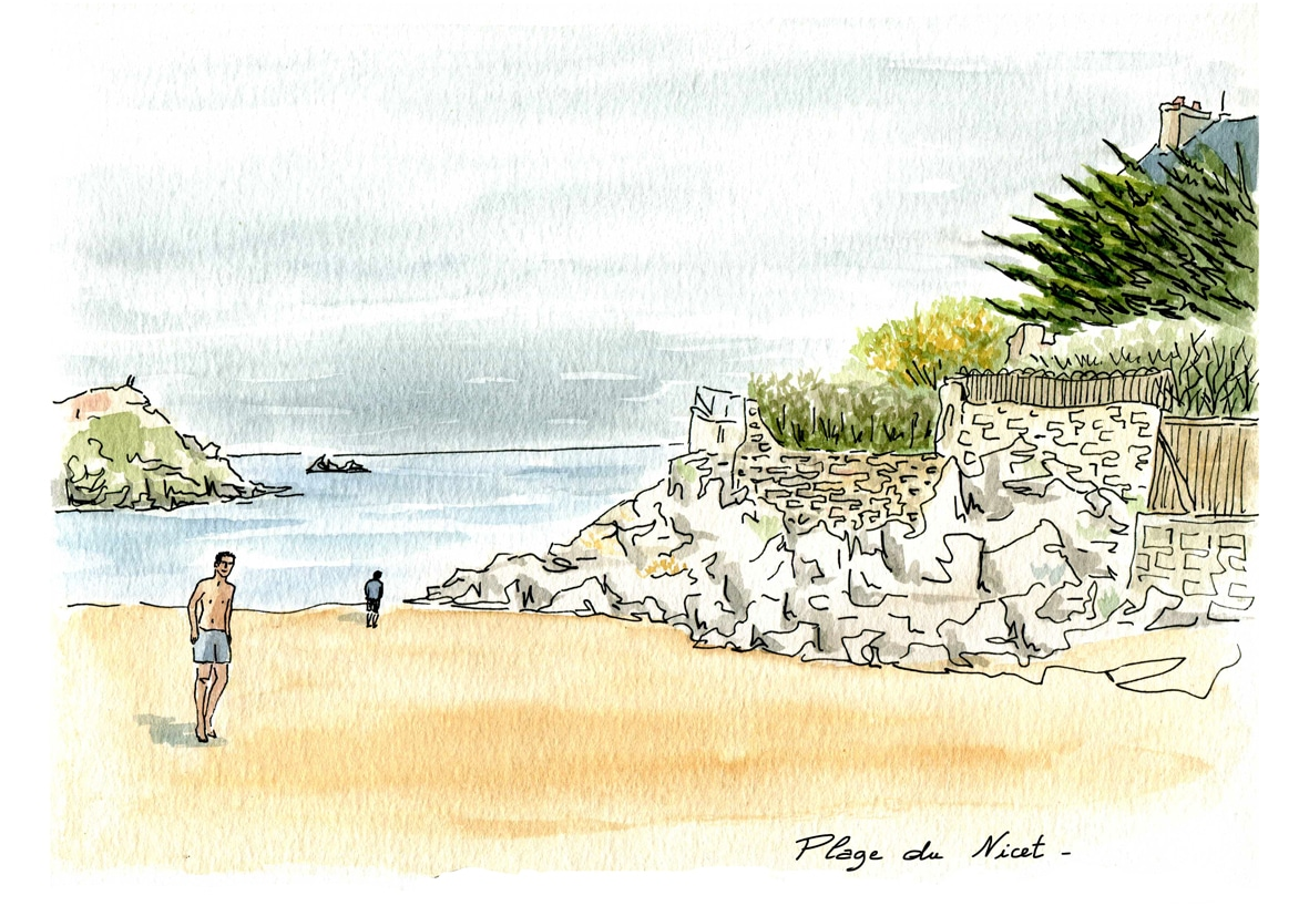 Rotheneuf - plage du Nicet2 calendrier
