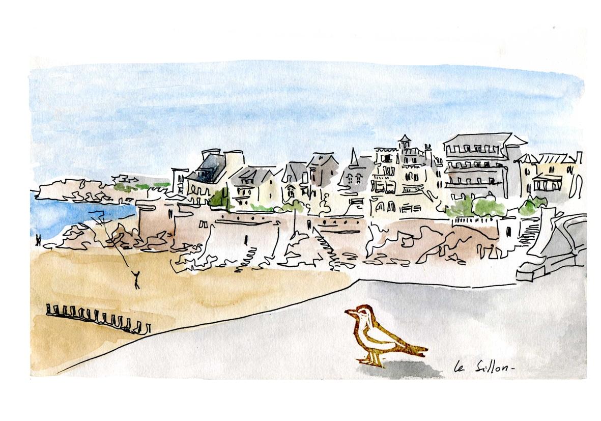 Saint Malo - le sillon