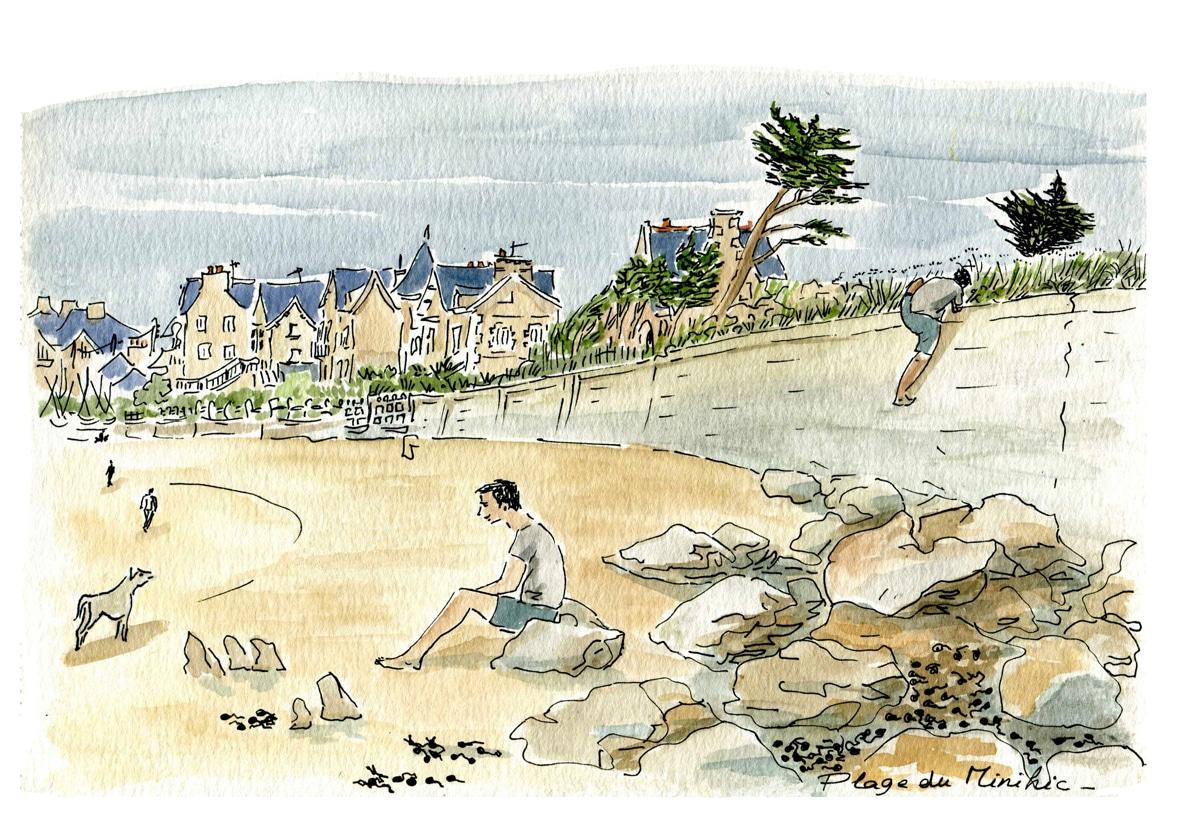 Saint Malo - plage du pont bis