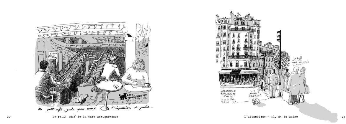 Cafés L'atlantique et de la gare Montparnasse