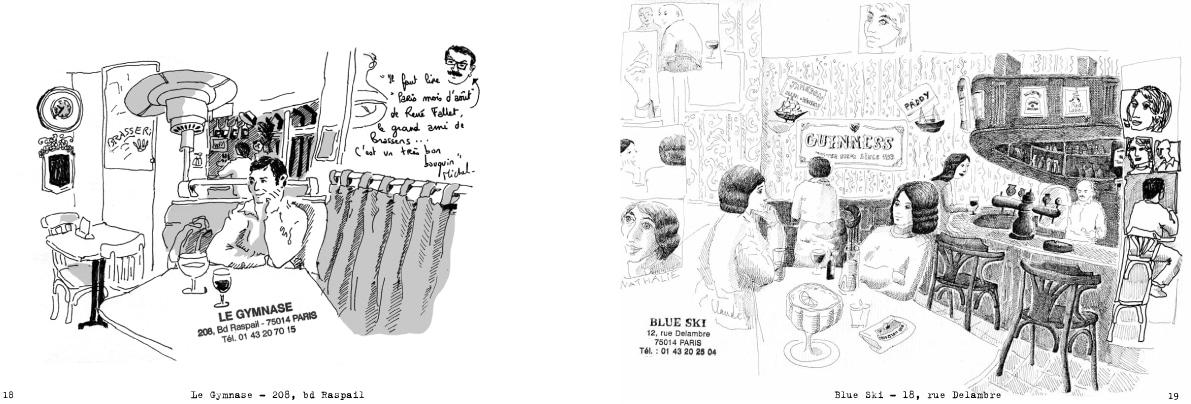 Cafés Le Gymnase et Blue Ski