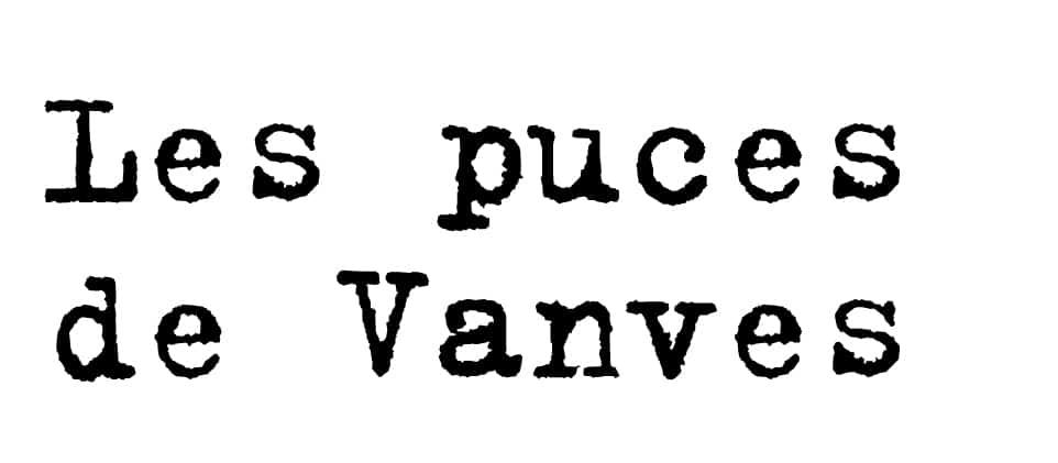 Les puces de Vanves