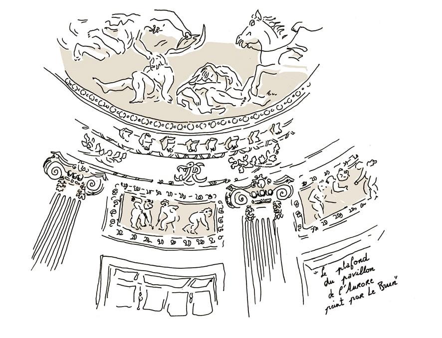 pavillon de l'aurore- domaine de Sceaux