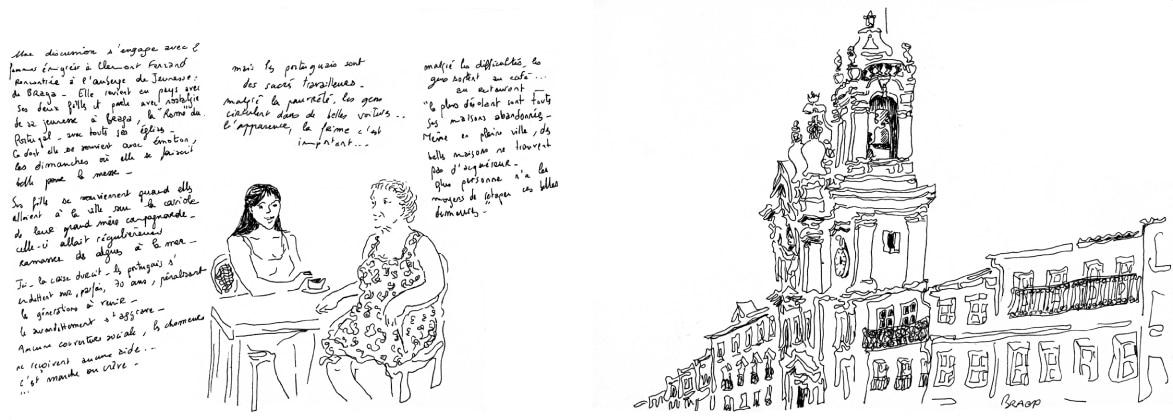 Conversation à Braga