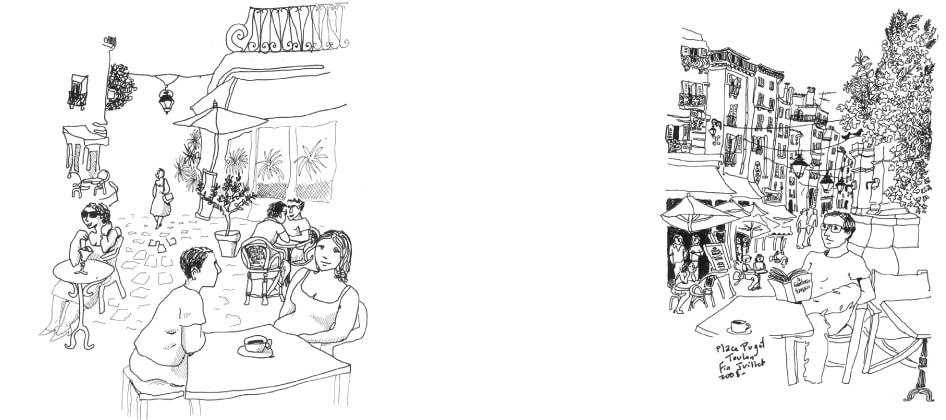 Terrasses de cafés