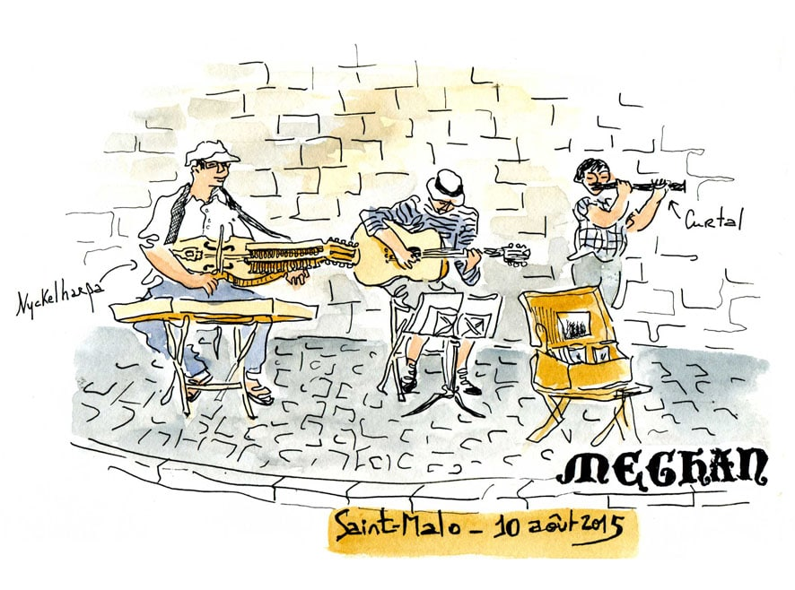 Saint Malo - concert meghan