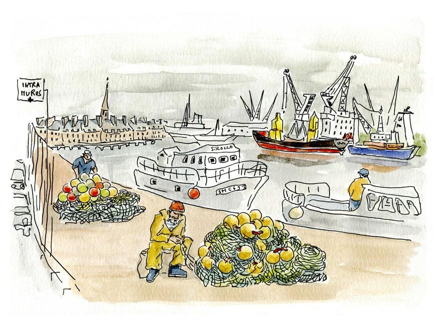 Saint Malo -port maritime